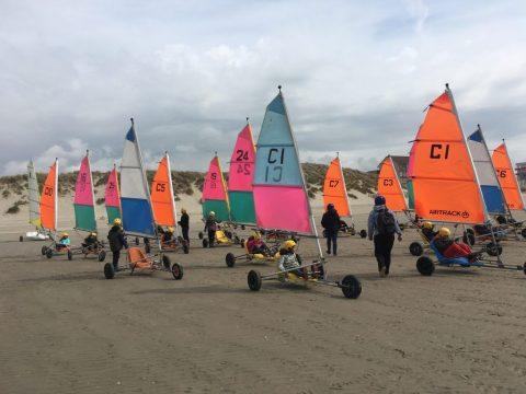 Char a Voile - Classe découverte Baie de Somme