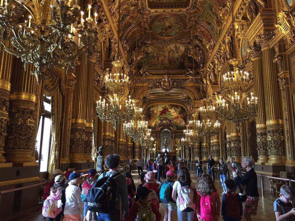 Galerie des Glaces Château de Versailles - Classe découverte Paris