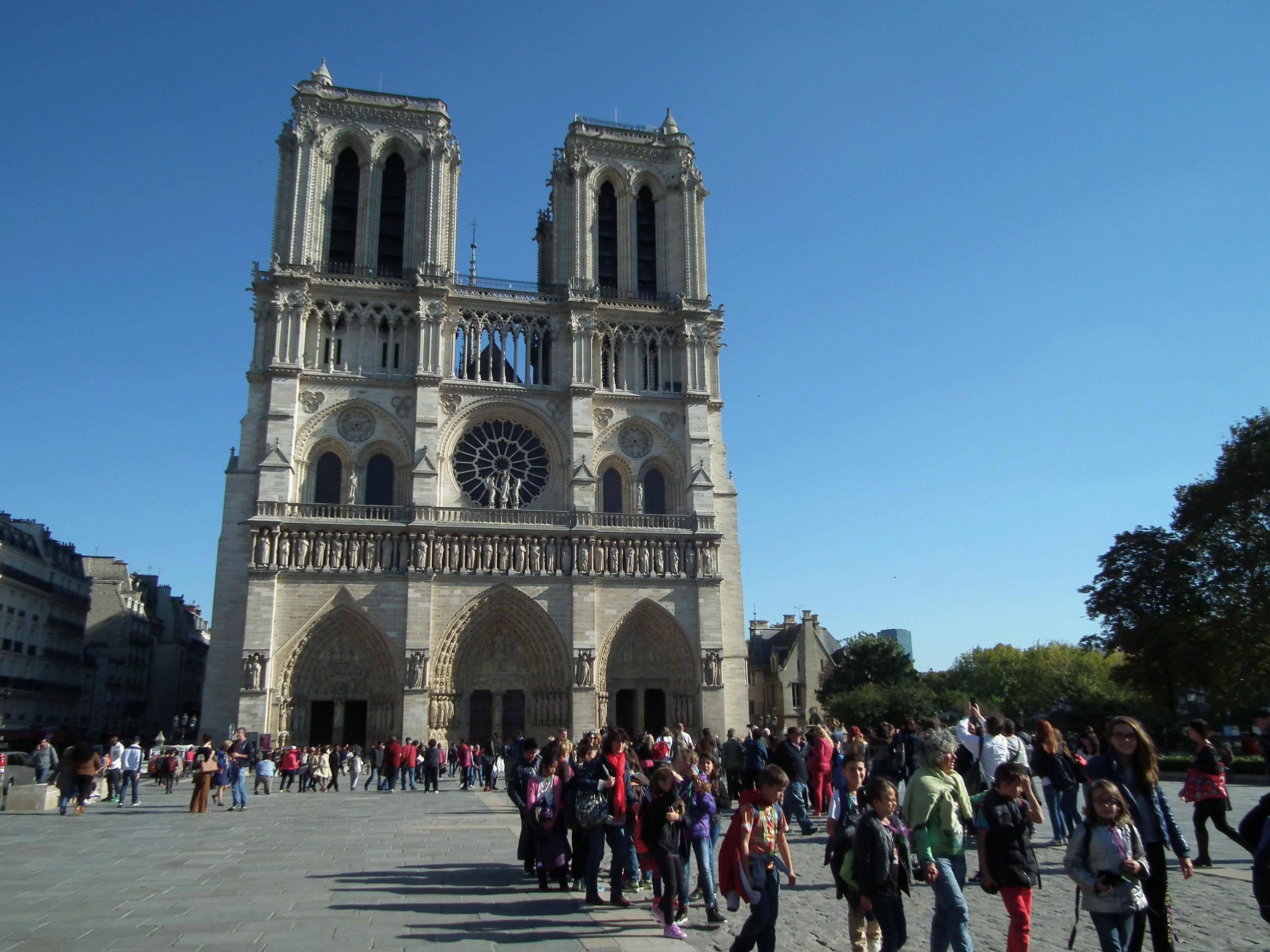 Notre Dame - Classe découverte de Paris