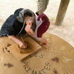 Atelier Pates d'animaux - Classe découverte Zoo