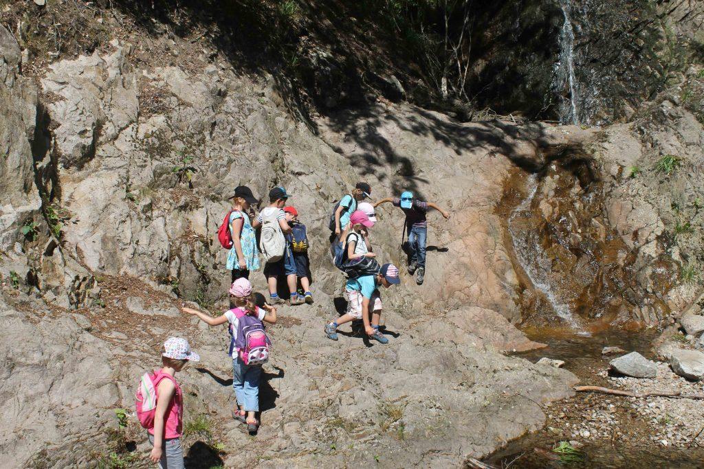 Au bord de la rivière - Classe découverte Vosges