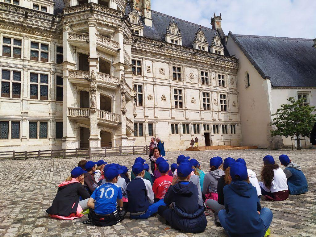 Chateau Blois - Classe decouverte Val de Loire et ses chateaux