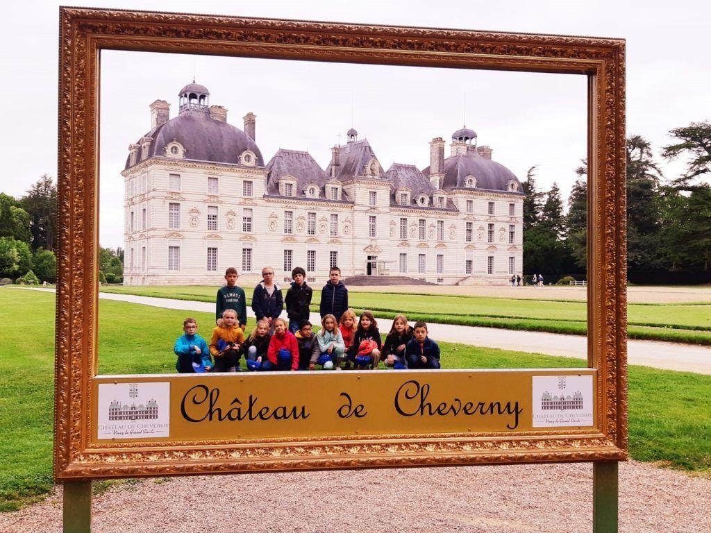 Chateau Cheverny - Classe decouverte Val de Loire