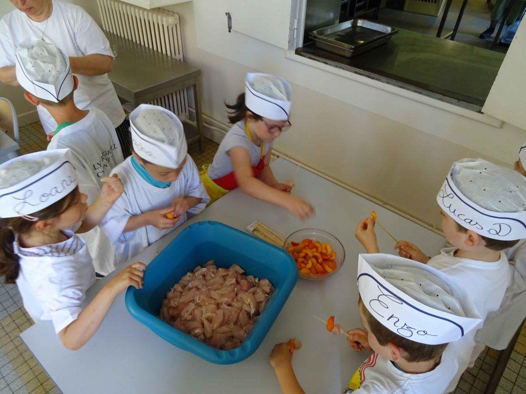 En action - Classe découverte Cuisine et Goût