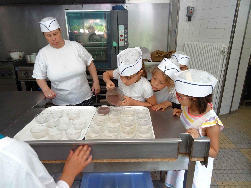 En cuisine - Classe découverte Petits Chefs