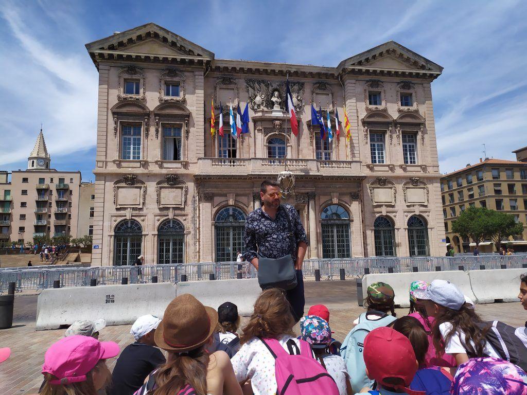 Mairie Marseille - Séjours scolaires
