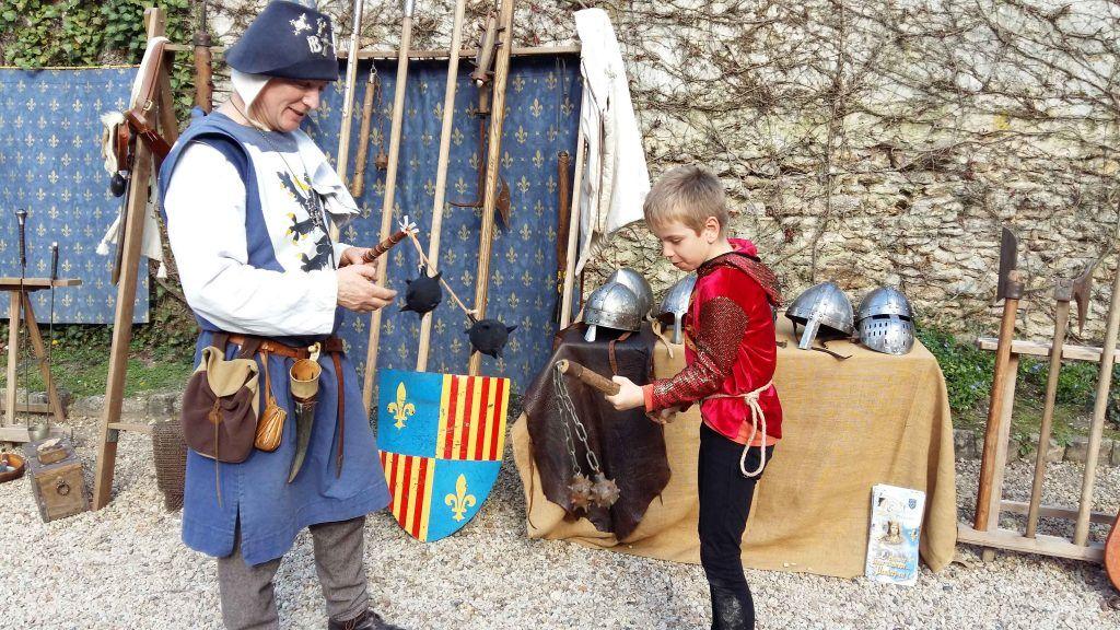 Maniement des armes - Classe Moyen Age