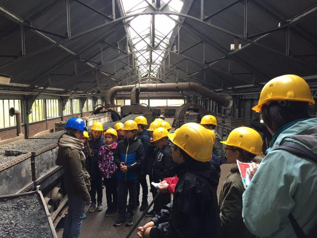 Mine de Lewarde - Classe découverte Hauts de France