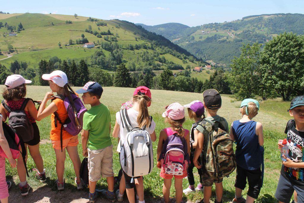 Quelle vue - Classe découverte Vosges
