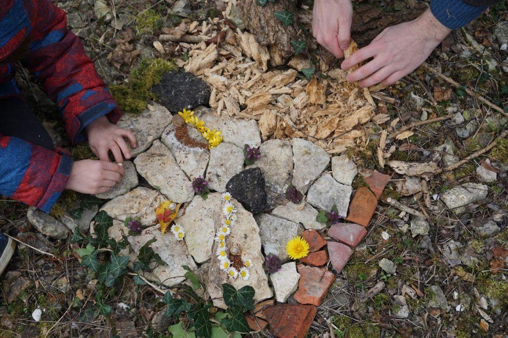 Landart - Classe découverte Nature