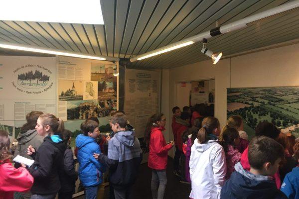 Dans le Musée - Classe découverte Seconde Guerre Mondiale