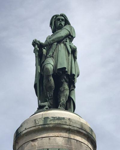 Statue Vercingétorix - Classe découverte Gallo Romaine