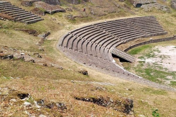 Théâtre romaine - Classe découverte Gallo Romaine